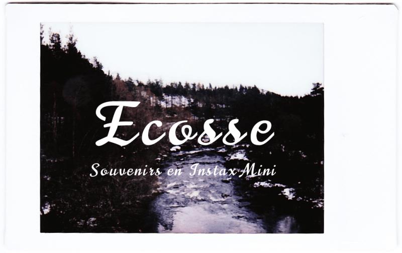 Souvenirs Ecosse Instax Mini