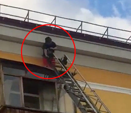 WATCH: Didn't Go As Expected: When Tryna Rescue A Drunk Person Goes Wrong!