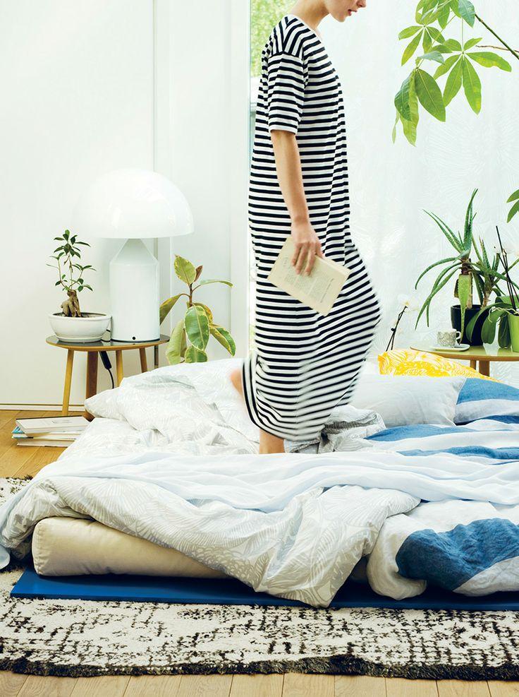 lit au sol