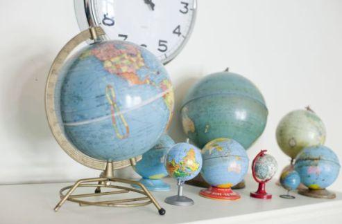 globes vintage