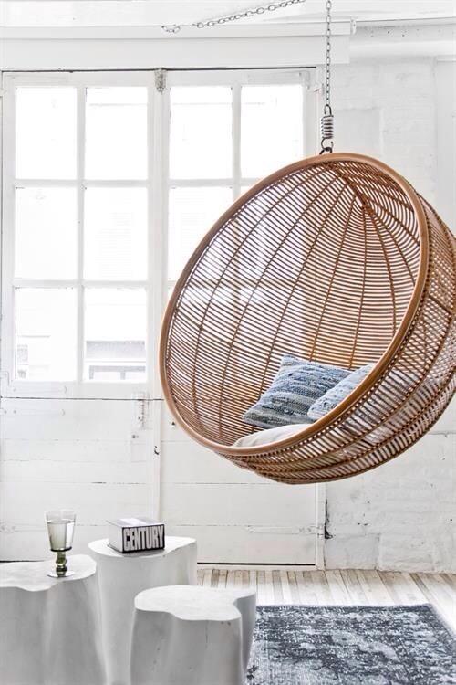 fauteuil suspendu bulle