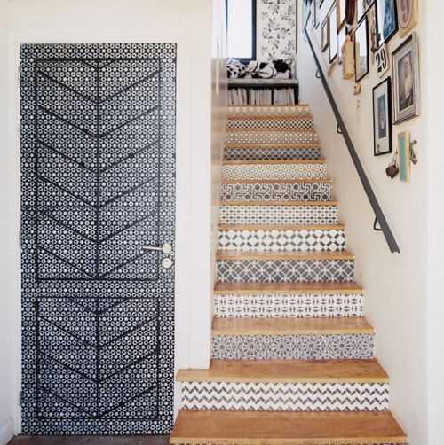 carreaux ciment escalier