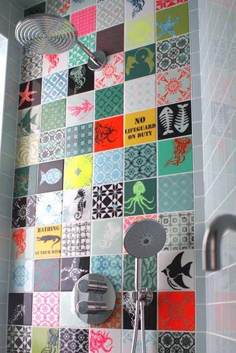 carreaux de ciment : 17 idées déco originales | Une hirondelle dans ...