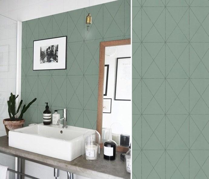 papier peint salle de bain 10