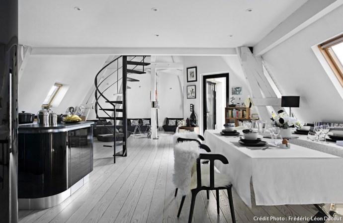 decoration noir et blanc5