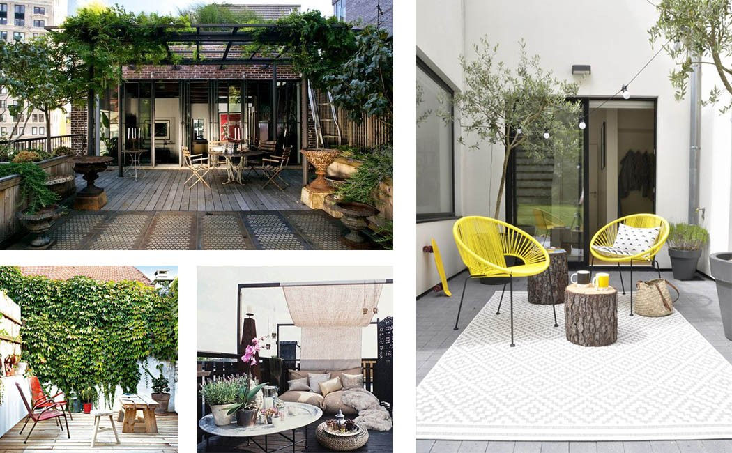 Amnager Une Terrasse Extrieure Elegant With Amnager Une