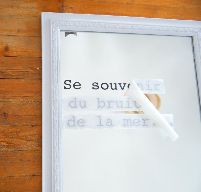 DIY ecrire sur miroir 14