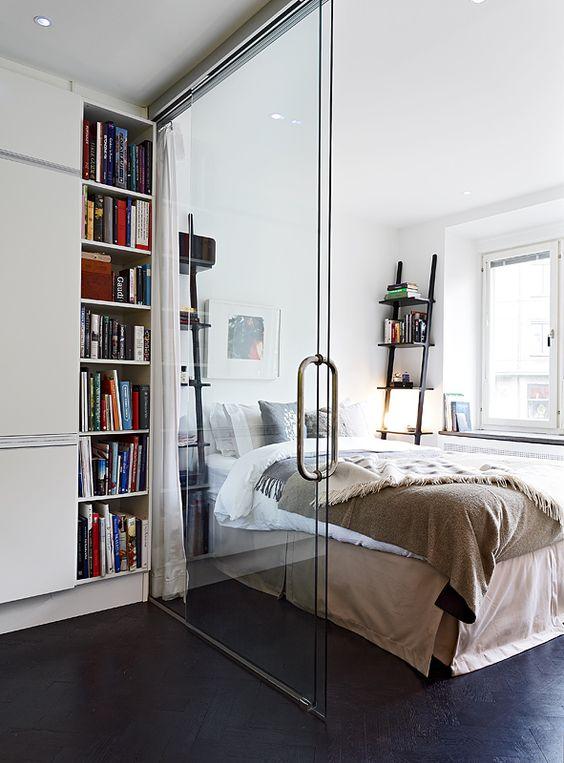coin chambre dans salon idées aménager_23