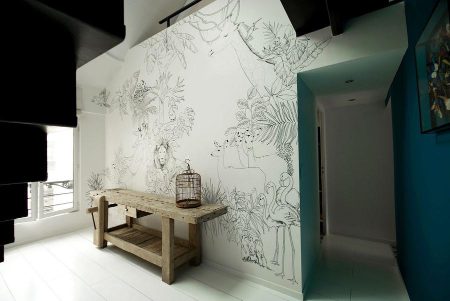 fresque murale deco 21