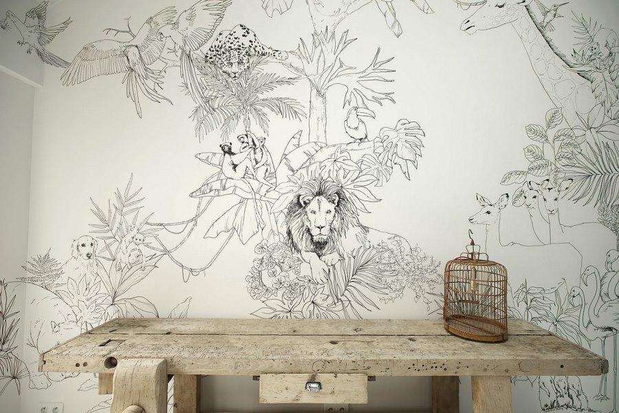fresque murale deco 22