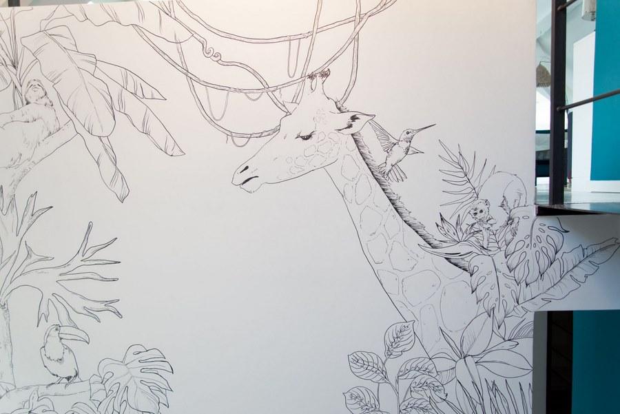 fresque murale deco 30