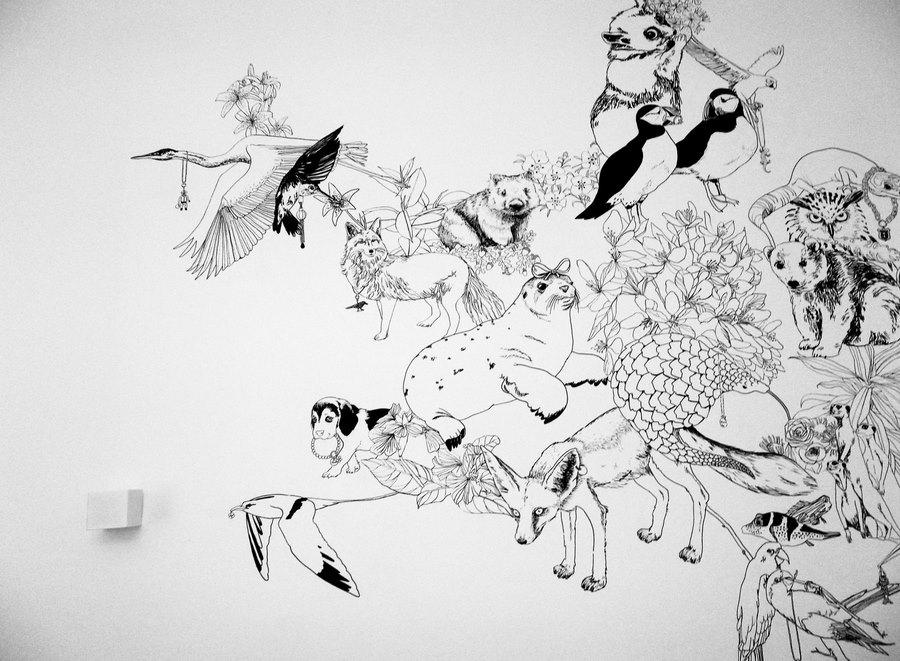 fresque murale deco 6