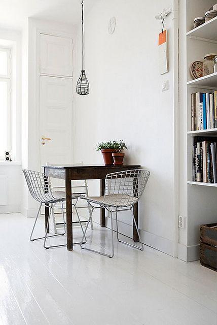 chaise bertoia 9