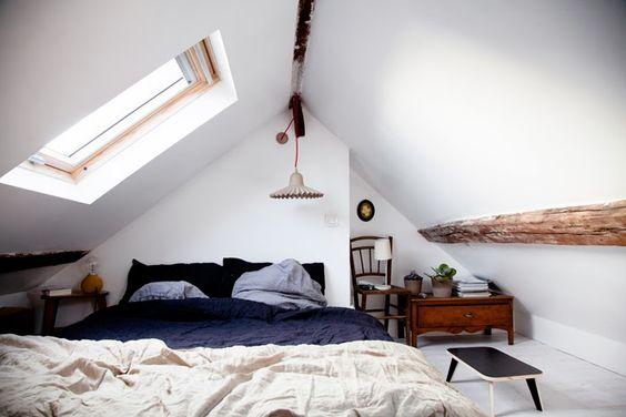 aménager chambre combles (2) | Une hirondelle dans les tiroirs