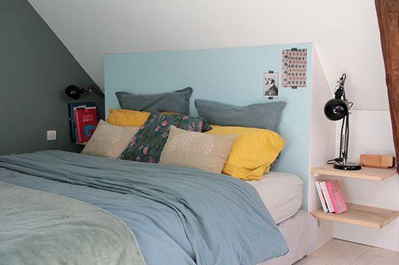 Amenager Une Chambre Sous Les Combles 35 Idees Pour Vous Inspirer Une Hirondelle Dans Les Tiroirs
