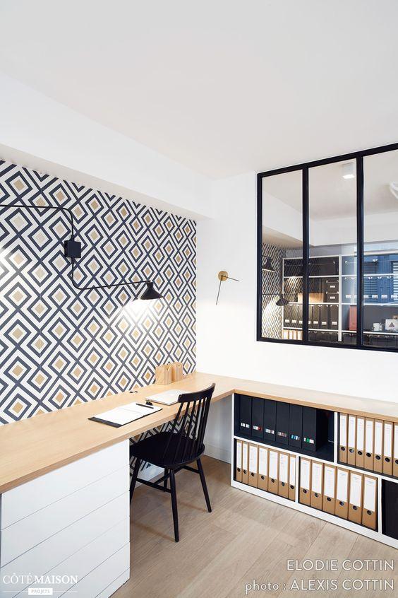 am nager un bureau chez soi 12 conseils quand on travaille la maison une hirondelle dans. Black Bedroom Furniture Sets. Home Design Ideas
