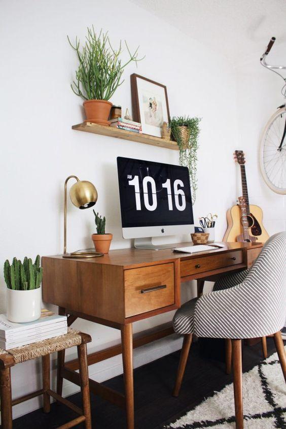 aménager un bureau chez soi : 12 conseils quand on travaille ...