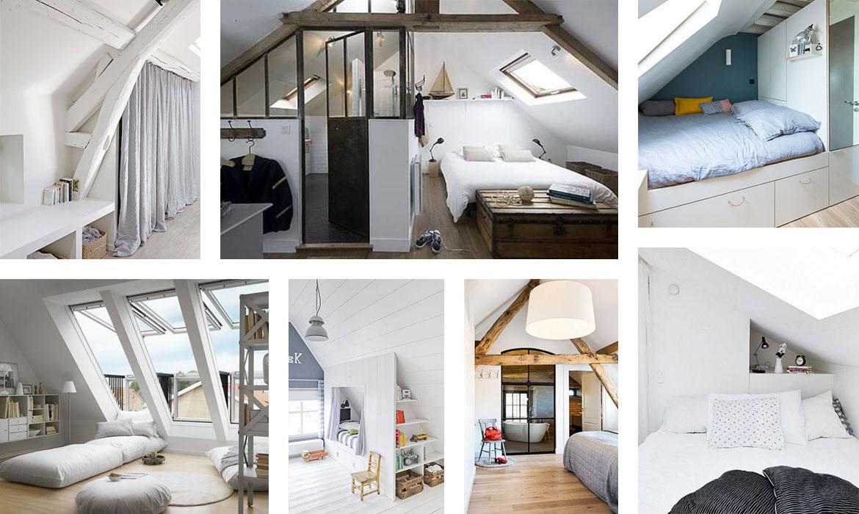 Aménager Une Chambre Sous Les Combles : 35 Idées Pour Vous Inspirer