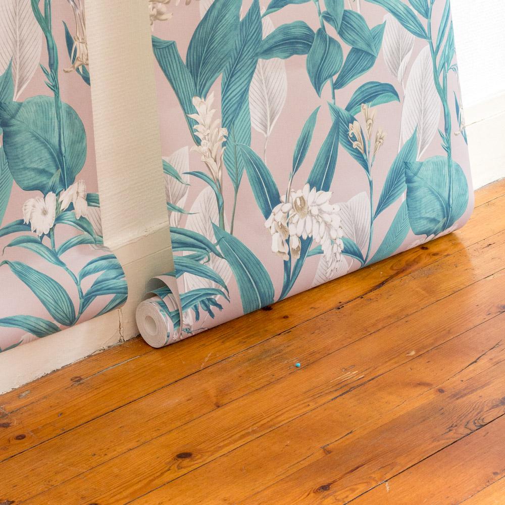 astuces poser du papier peint-4 | Une hirondelle dans les tiroirs