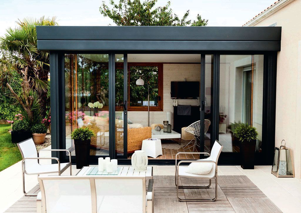 Idee Deco Une Veranda Dans La Maison Une Hirondelle Dans Les Tiroirs