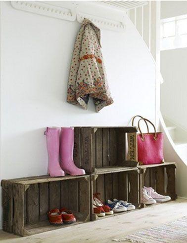 28 id es pour ranger les chaussures une hirondelle dans les tiroirs. Black Bedroom Furniture Sets. Home Design Ideas