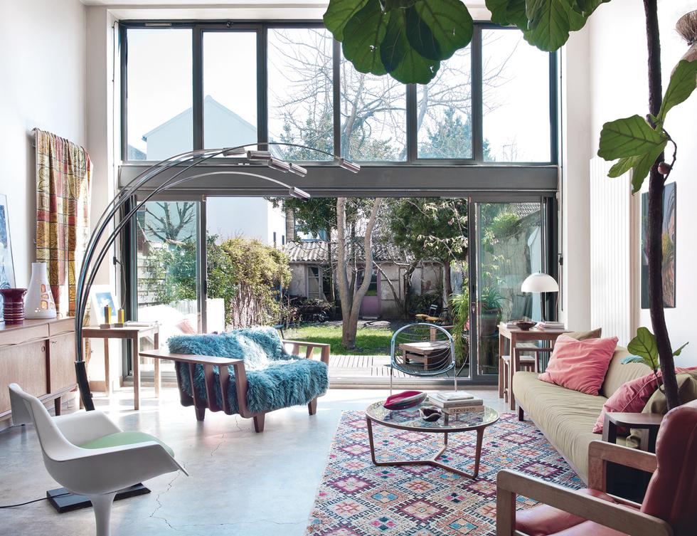 La maison boh me chic d 39 une passionn e de vintage une for Decoration maison boheme