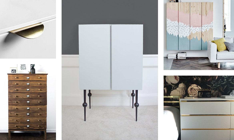 Comment Customiser Une Armoire 9 idées pour relooker un meuble ikea facilement | une