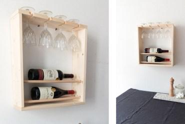 DIY mini bar