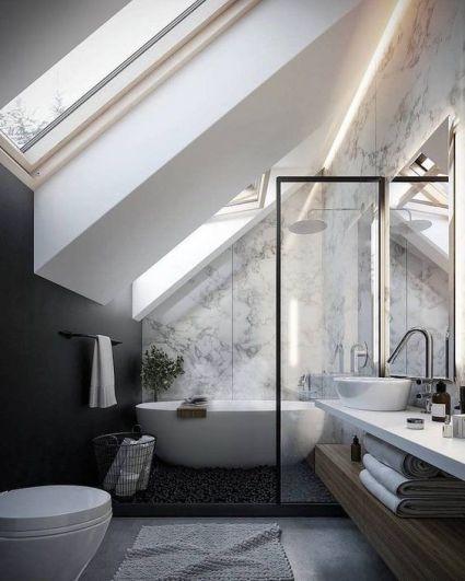 5 conseils pour une salle de bain design | Une hirondelle dans les ...