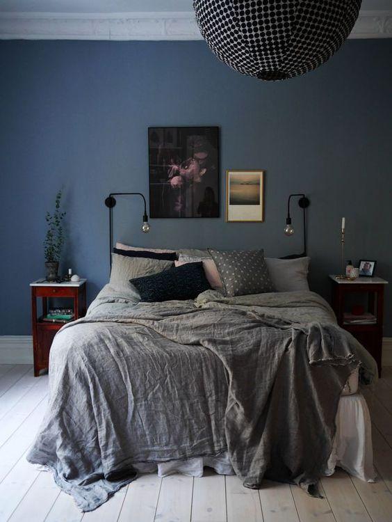14 idées pour une chambre avec du bleu   Une hirondelle dans les tiroirs
