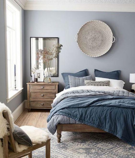 14 idées pour une chambre avec du bleu | Une hirondelle dans ...