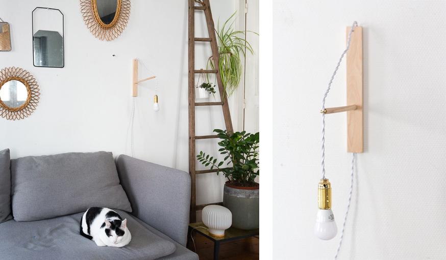 DIY lampe potence
