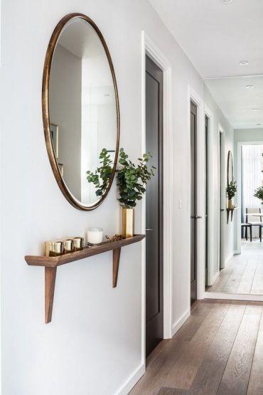 Habiller Un Couloir décorer un couloir : 8 idées à piquer !   une hirondelle dans les