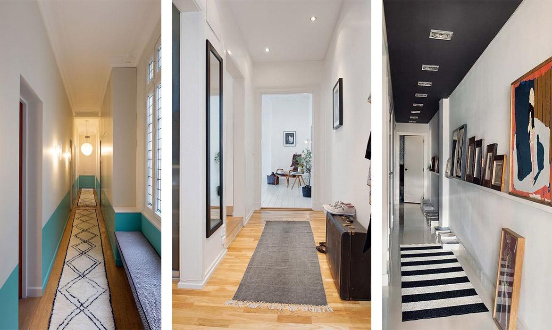Papier Peint Effet Miroir décorer un couloir : 8 idées à piquer ! | une hirondelle
