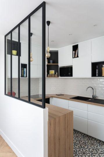42 idées déco de cuisine blanche ! | Une hirondelle dans les tiroirs