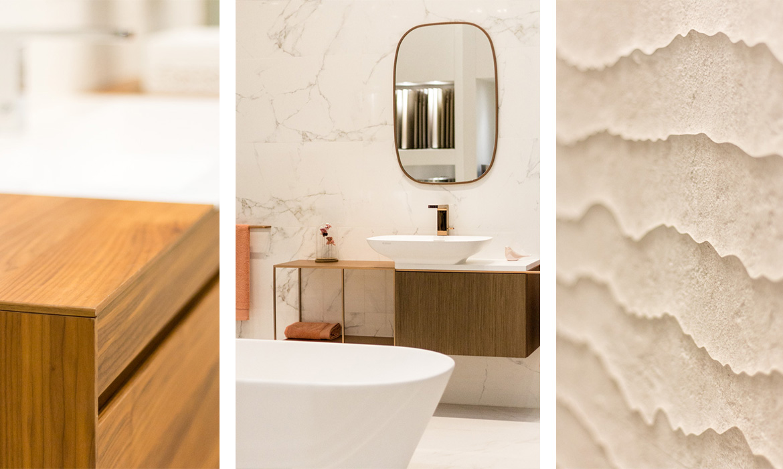 la salle de bain design revue et corrigée par Porcelanosa ...