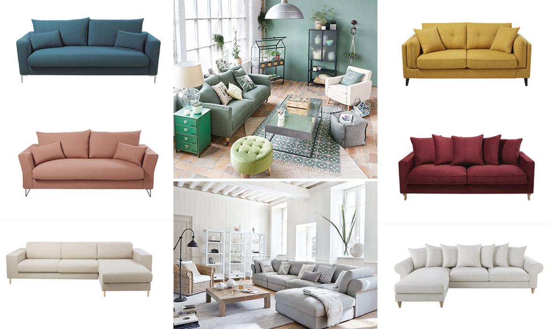 Maisons du monde lance un canapé entièrement personnalisable  Une