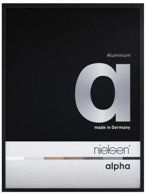Cadre Standard Nielsen Alpha Noir anodisé Mat