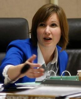 Nebraska State Senator Kate Bolz