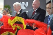 UNMC-China Ribbon Cutting