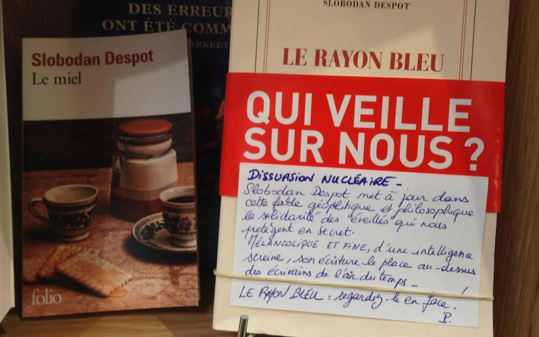 Slobodan Despot, Le Rayon Bleu, Gallimard (2017)