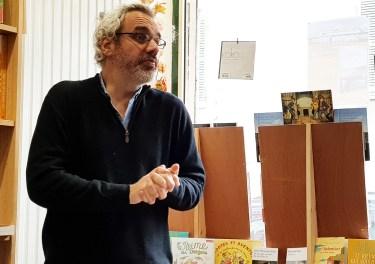 Philippe Vasset à la librairie une page à écrire 2