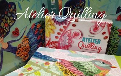 Atelier Quilling samedi 15 juin 2019 de 10h à 12h