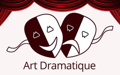 Atelier découverte : l'art dramatique, samedi 23 février de 15h à 16h
