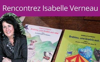 Dédicace avec Isabelle Verneau, auteure jeunesse, samedi 13 avril 2019 à 15h