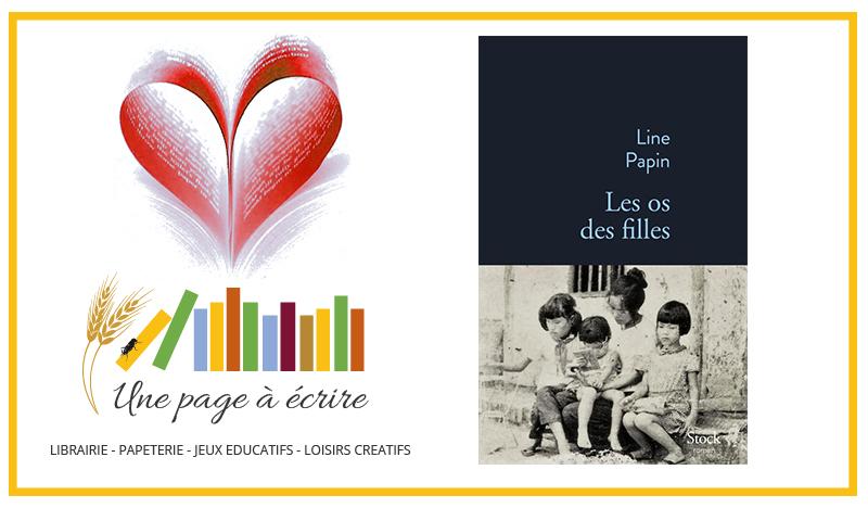 Line Papin, Les os des filles (Stock, 2019)