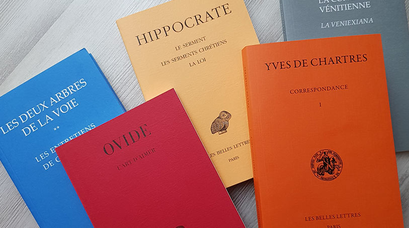 Offre sur les éditions Les Belles Lettres pour leur centenaire