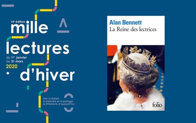 Mille lectures d'hiver 2020 : lecture d'Alan Bennett + buffet, samedi 7 mars à 19h