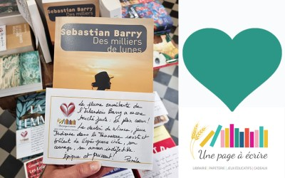 Sebastian Barry, Des milliers de lunes