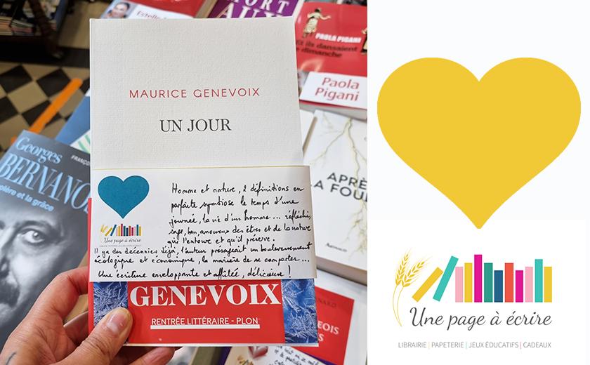 Maurice Genevoix, Un Jour